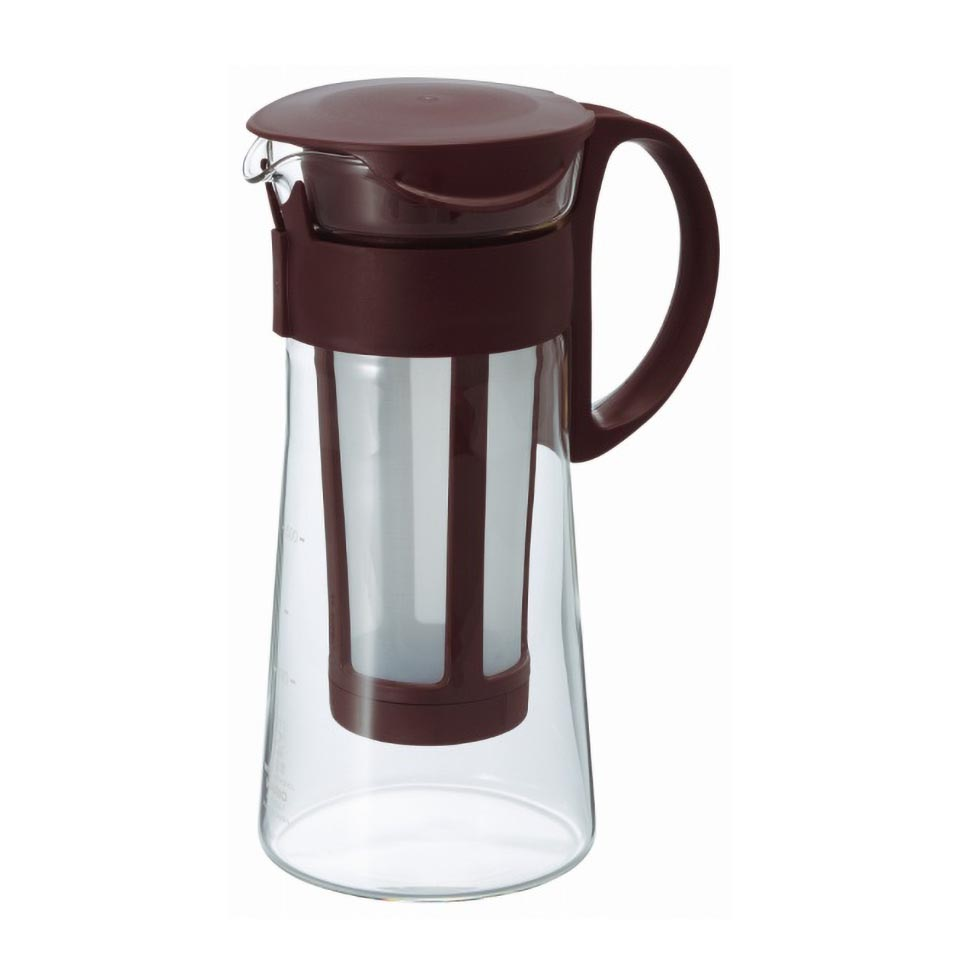 Water Brew Coffee Pot Mini Brown