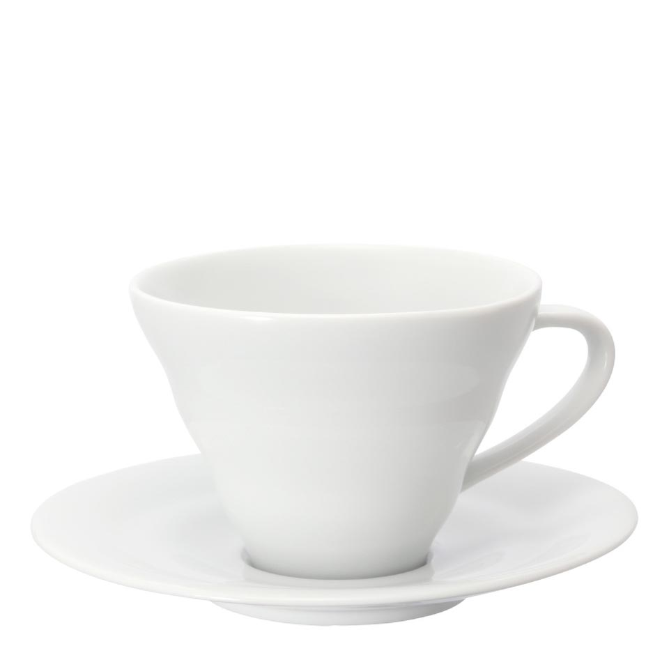 V60 Cup and Saucer, Ceramic 150ml