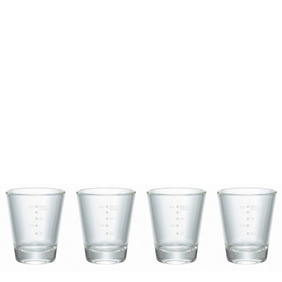 Shot Glass 4 Pieces Set