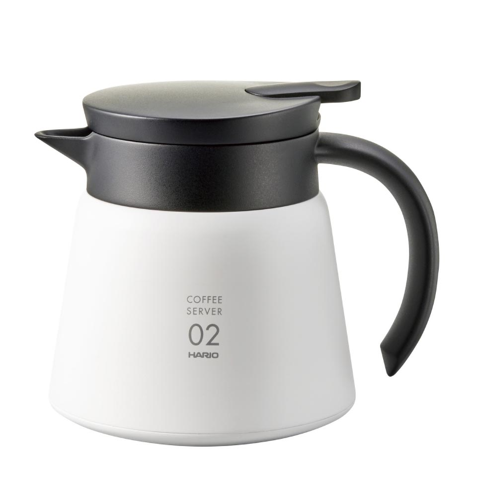 V60 Heat - Retaining Stainless Server 600 White