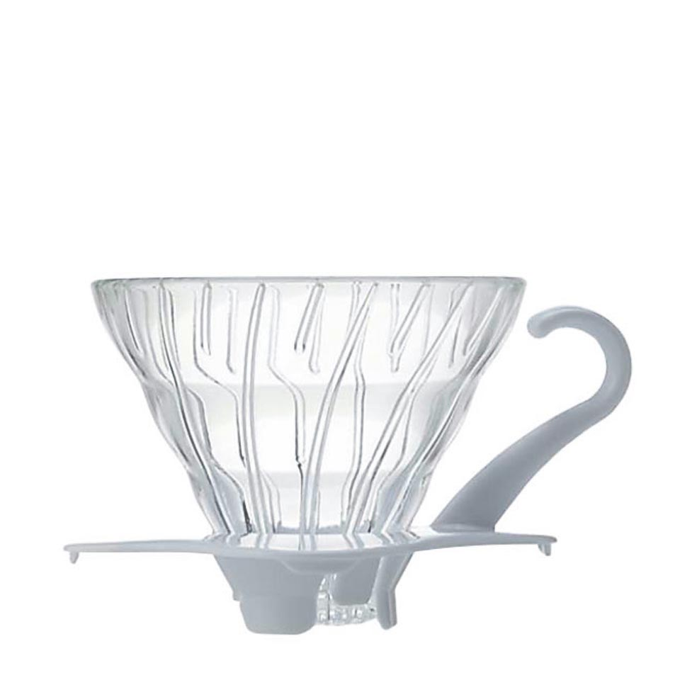 Glass Coffee Dripper V60 01 White