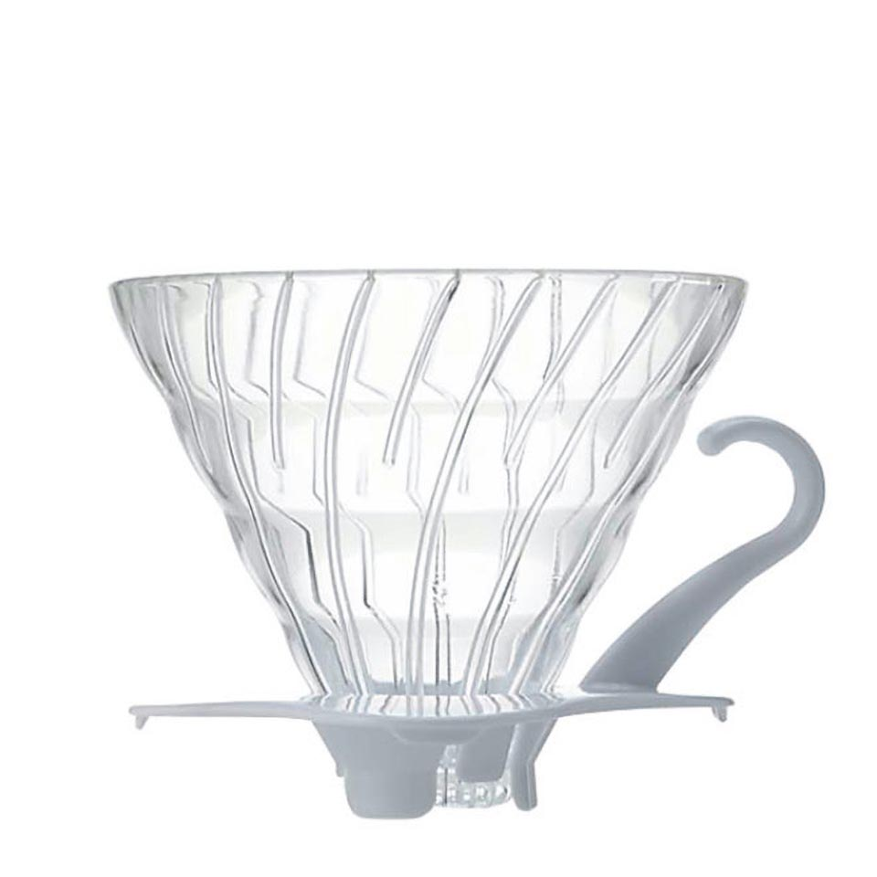 Glass Coffee Dripper V60 02 White