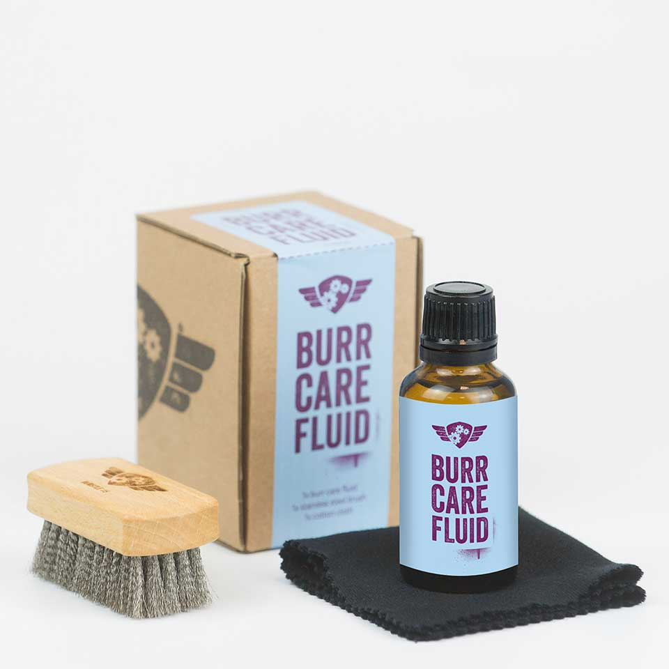 Burr Care Fluid Set