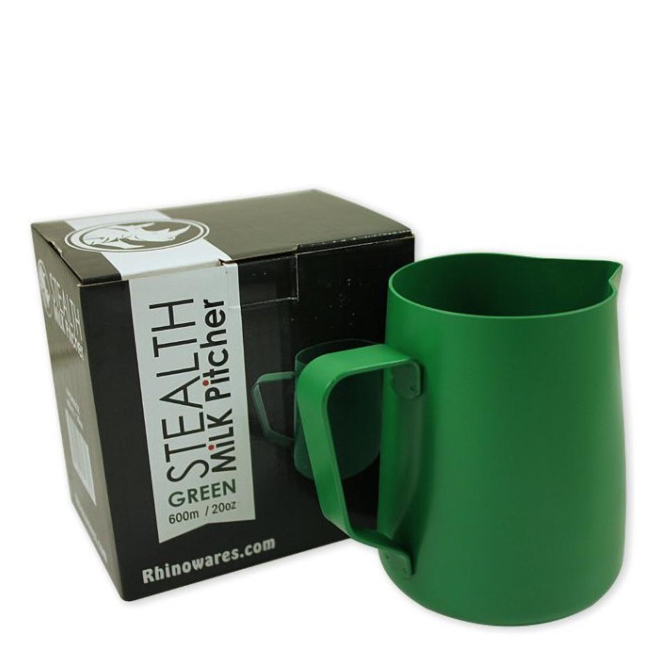 Rhino Stealth  Milk Pitcher 20oz/600ml Green