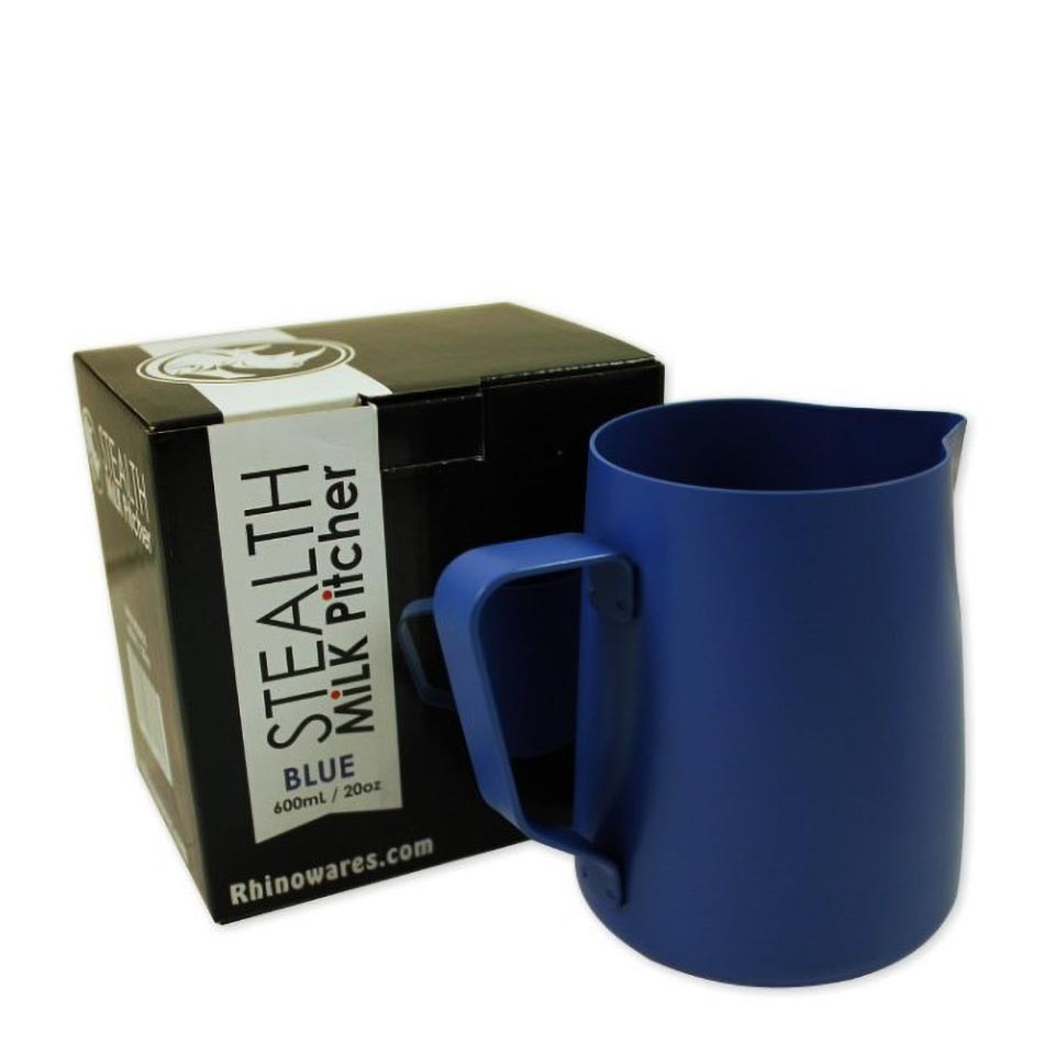 Rhino Stealth  Milk Pitcher 20oz/600ml Blue