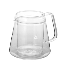 [VWS-50T] V60 Double Glass Coffee Server