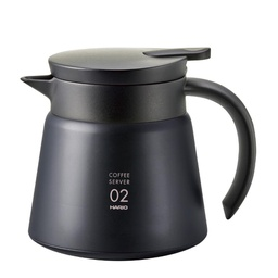 [VHS-60B] V60 Heat - Retaining Stainless Server 600 Black