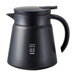 [VHS-80B] V60 Heat - Retaining Stainless Server 800 Black