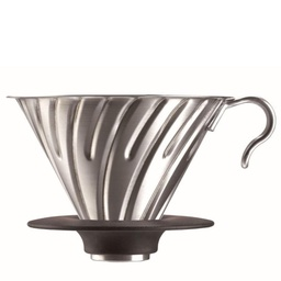 [VDM-02HSV] V60 metal dripper stainless steel