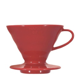 [VDC-02R] Coffee Dripper V60 02 Ceramic red