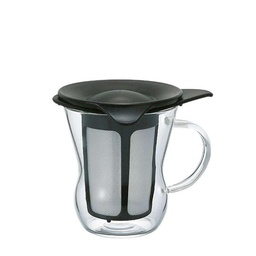 [OTM-1B] One Cup Tea Maker natural black