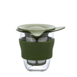 [HDT-M-OG] Handy Tea Maker (Olive Green) 200ml