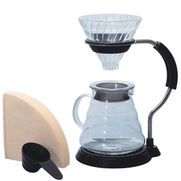 [VAS-8006-G] V60 Arm Stand Glass Dripper Set G