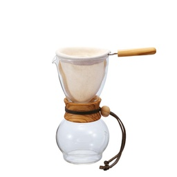 [DPW-1-OV] Drip Pot 240ml Olivewood