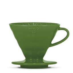 "[VDC-02-DG-BB] V60 Dripper ""Colour Edition"" dark green"