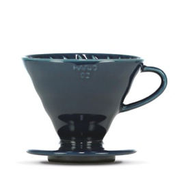 "[VDC-02-IBU-BB] V60 Dripper ""Colour Edition"" indigo blue"
