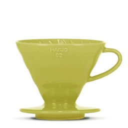 "[VDC-02-LG-BB] V60 Dripper ""Colour Edition"" light green"