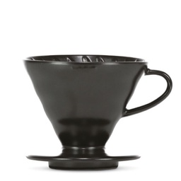 "[VDC-02-MB-BB] V60 Dripper ""Colour Edition"" matte black"