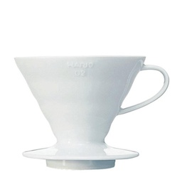 [VDC-02W] Coffee Dripper V60 02 Ceramic white