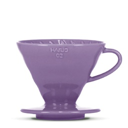 "[VDC-02-PU-BB] V60 Dripper ""Colour Edition"" purple"