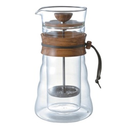 [DGC-40-OV] Double Wall Coffee Press (Olive wood)