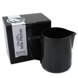 [RHTEF12OZ] Rhino Teflon Milk Pitcher 12oz/360ml  Black