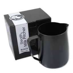 [RHTEF32OZ] Rhino Teflon Milk Pitcher 32oz/950ml  Black