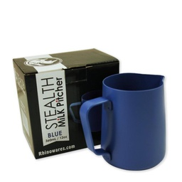 [RHBLUE12OZ] Rhino Stealth Milk Pitcher 12oz/360ml Blue
