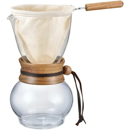 [DPW-3] Drip Pot 480ml Woodneck