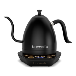 [BA10VKVDE-BB] Brewista Artisan 1.0L Gooseneck Variable Kettle - Black/Black