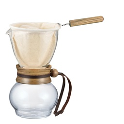 [DPW-1] Drip Pot 240ml Woodneck