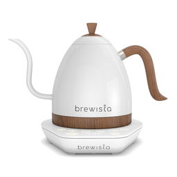 [BA10VKVDE-PWW] Brewista Artisan 1.0L Gooseneck Variable Kettle - Matte White