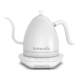 [BA10VKVDE-WW] Brewista Artisan 1.0L Gooseneck Variable Kettle - White/White